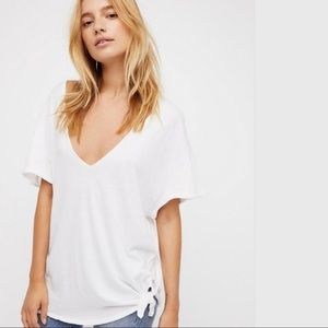 FREE PEOPLE Lilly Tee by We The Free NWT